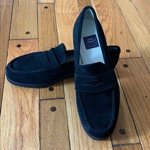 Andre Assous Collection - Donna Black Suede Loafer